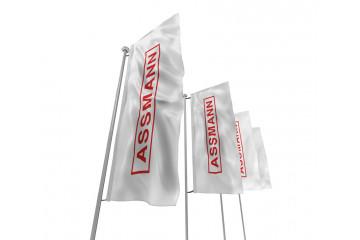 Hissfahne Logo-ASSMANN